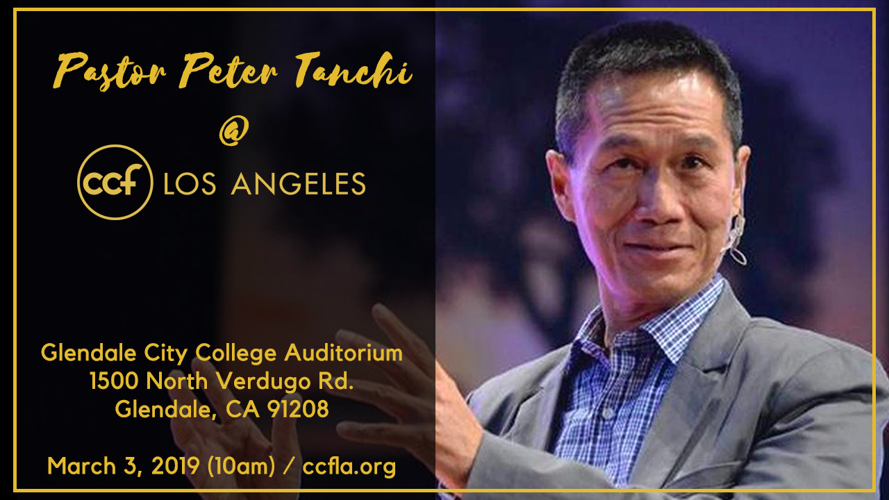 Pastor Peter Tanchi in CCFLA on March 3, 2019