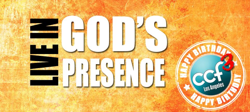 Live In Gods Presence