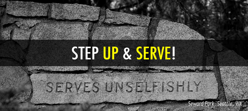 Step Up and Serve