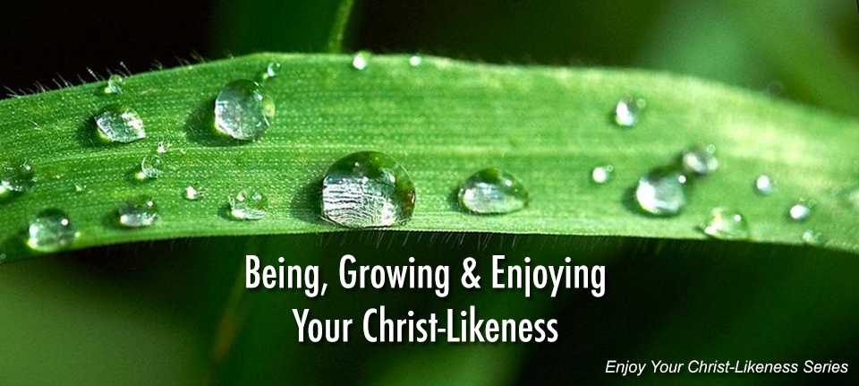 Being, Growing and Enjoying your Christ-Likeness