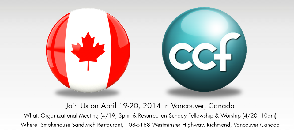 Vancouver | Join us for Organizational Meeting and Sunday Resurrection and Worship