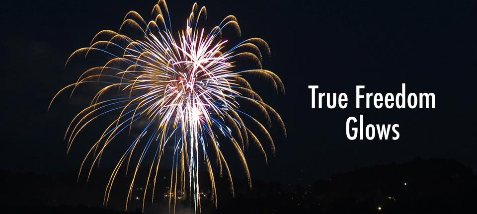True Freedom Glows