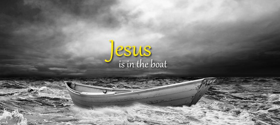 Jesus is in the Boat