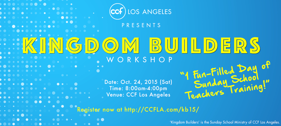 Kingdom Builders Workshop 2015