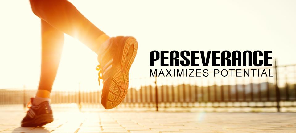 Perseverance Maximizes Potential