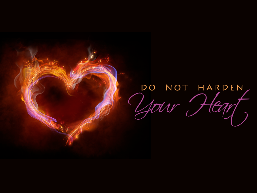 Do Not Harden Your Heart