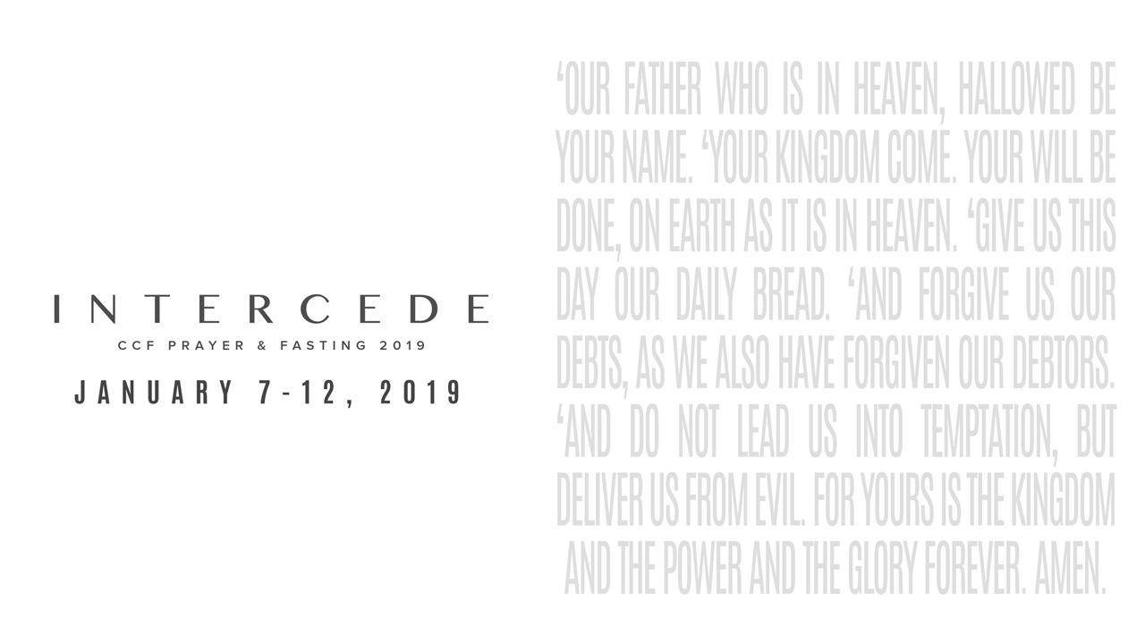Intercede 2019|Christ's Commission Fellowship | Los Angeles