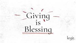 Legit: Giving Is Blessing